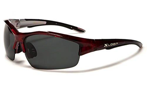 X-Loop Aurora Occhiali da Sole Polarizzati - Occhiali Polarizzati Sportivi / Sci / Ciclismo - Occhiali Da Corsa