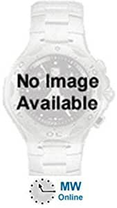 Victorinox Swiss Army Men's 24785.1000 Airboss Mach 6 Black Leather Automatic Chronograph Red Dial Watch