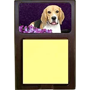 Beagle Sticky Note Holder Holder