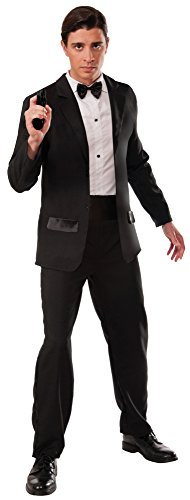 Men's Secret Agent Deluxe Costume Tuxedo