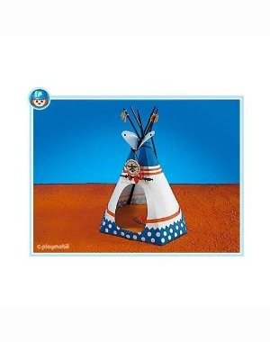 Playmobil Native American Teepee front-990214