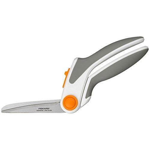 Fiskars 24 centimetri RazorEdge Facile azione Forbici Soft Grip, multi-colore