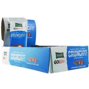 Kashi GOLEAN Bar Crunchy! Cinnamon Coffee Cake, 12 - 1.59-Ounce Bars