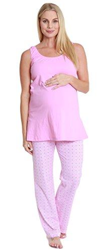 Baby Be Mine Maternity & Nursing Pajama Set (Medium pre pregnancy 8-10, Chloe)