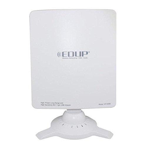 EDUP Adaptateur EP - 6506 802.11B/G Adaptateur USB 2.0 pour réseau sans fil (Blanc)