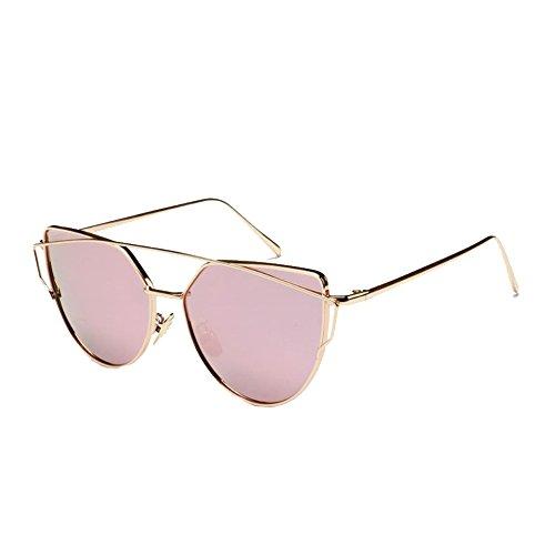 FCZERO SG70061 Sunglasses for Women,Anti-UV Non-Polarizer - UV400/Wheat Frames/Pink Lens (North Rim Coleman compare prices)