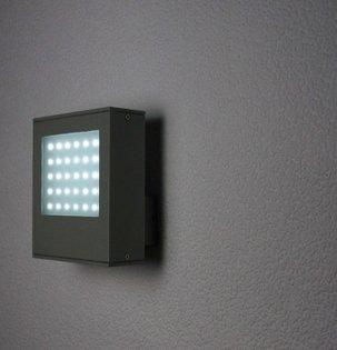 LED Aussenwandleuchte GAIA 145mm