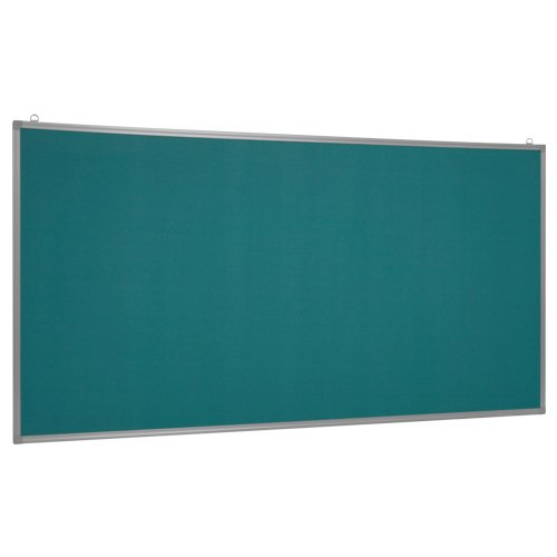 壁掛掲示板 グリーン ピンナップボード W1800×H900mm