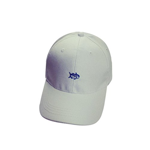 Iuhan® New Embroidery Cotton Baseball Cap Boys Girls Snapback Hip Hop Flat Hat (White) (Zulu Zephyr compare prices)