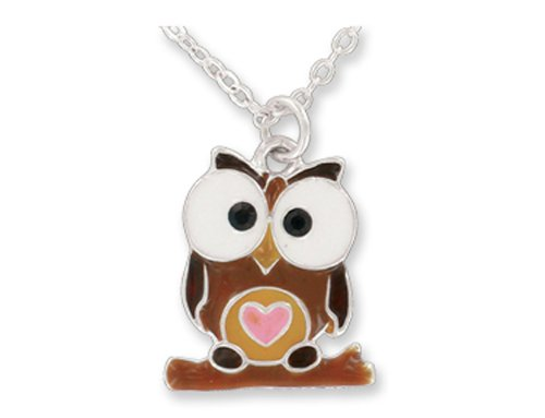 DM Merchandising Owl Pendant Necklace Picture