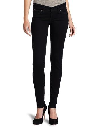 Levi's Juniors' Demi Curve Skinny Jean, Onyx, 0/24 M