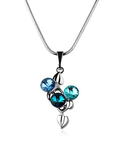 Bohemian Love Story Collar Linden Leafs Rivoli Azul