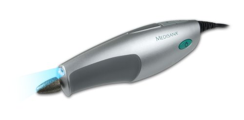 Medisana Manilux S Manicure/Pedicure Device with Light and 5 Attachments