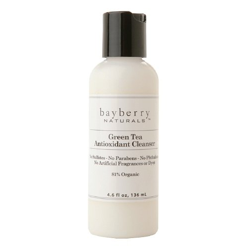 Bayberry Naturals Antioxidant Cleanser, Green Tea 4.6 Fl Oz (136 Ml)