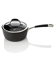 18cm Hard Anodised Non-Stick Saucepan
