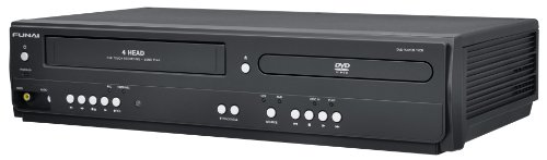 The New Funai Corp. DV220FX4 Combination Video and DVD Player