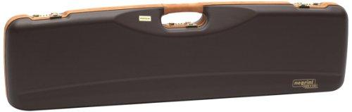 Negrini Cases 1602LX/4707 Shotgun Case for O/U SXS/ABS/1 Gun/1 Barrel up to 32 3/4-Inch, Brown/Brown (Negrini Gun Cases compare prices)