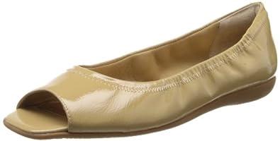 Trotters Women's Morgan Ballet Flat,Nude Patent,5 M US