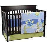 Sea Babies 6 Piece Baby Crib Bedding Set by Nojo