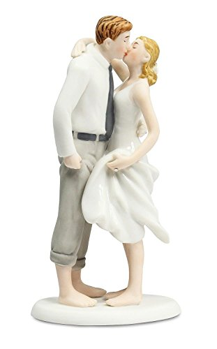 Beach Get Away Wedding Cake Topper By Wedding Collectibles