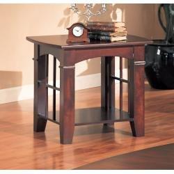 Cheap Coaster Abernathy End Table with Shelf (B004098Q4E)