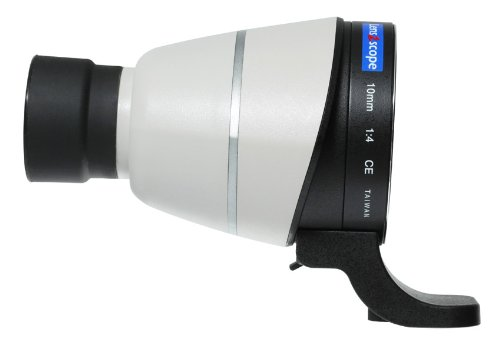 Lens2Scope 10Mm 1:4 Eyepiece For Canon Ef/Ef-S Lens, Straight View, White Color