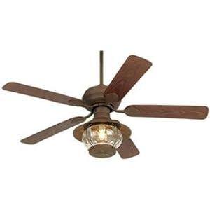 "52"" Casa Vieja® Rustic Indoor/ Outdoor Ceiling Fan - - Amazon.com"