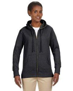 Econscious EC4580 Ladies Hood Fleece - Charcoal - 2XL EC4580