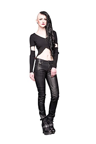 queen-of-darkness-bauchfreies-shirt-mit-abnehmbaren-armeln