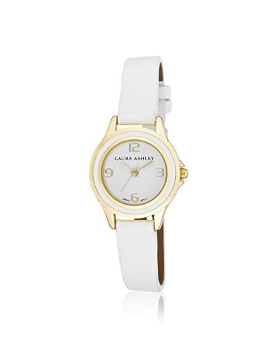 Laura Ashley Women's LA31009WT Analog Display Japanese Quartz White Watch