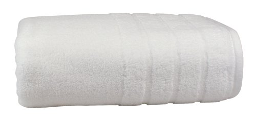 1888 Mills Luxury Cotton Made in Africa Bath Towel, White