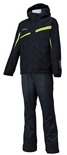 オンヨネ(ONYONE) メンズ スキーウェア 上下セット RES98001 ブラック×チャコール L