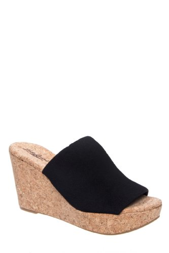 Lucky Brand Marilynn High Wedge Platform Slide Sandal