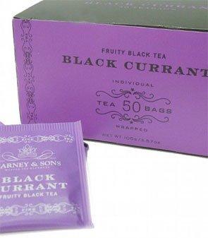 Harney & Sons Fine Teas Black Currant Fruity Black Tea - 50 Teabags