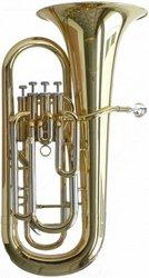 Steinbach Bb- Euphonium mit 4 Perinetventilen im leichtem Koffer mit Rollen