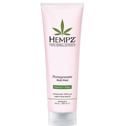 HEMPZ by Hempz POMEGRANATE HERBAL BODY WASH 9OZ for UNISEX