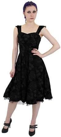 damen ein empire stil steampunk kleid aus herrlichen brokat mit korsett schn rung in gr en 34. Black Bedroom Furniture Sets. Home Design Ideas