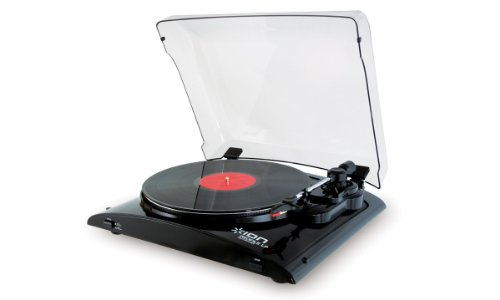 Ion Profile Pro Vinyl-To-Mp3 Turntable With Input