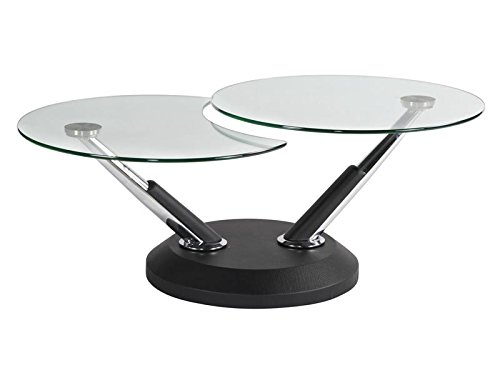 Magnussen Modesto Metal Round Cocktail Table