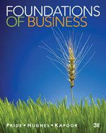 Foundations of Business, 3rd Edition