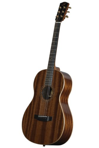 Bedell OH-12E-G Parlor Acoustic Electric Guitar