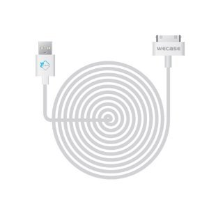 Wecase 10Ft Long Usb Charger Cable Iphone 3G 4G Ipod Ipad Ipod Mini; Ipod 3G, 4G, 5G, 5.5G; Ipod Touch