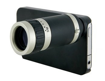 High Definition 8X Telescope For Iphone (Black)