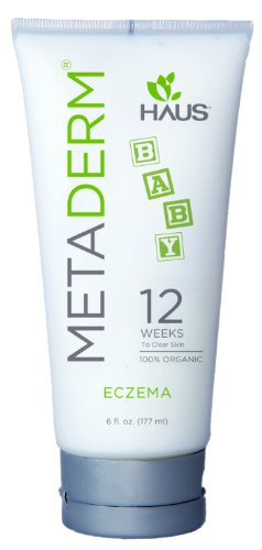 MetaDerm Baby Eczema Organic Soothing Cream (6 oz.)