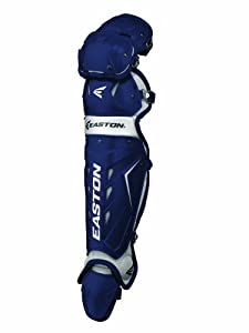 Buy Easton Adult Force Catchers Leg Guards (Navy) by Easton