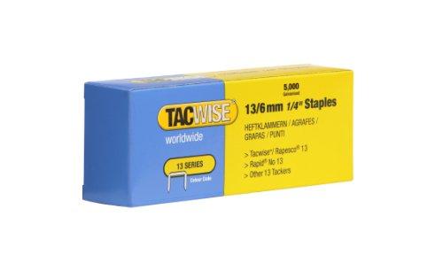 Tacwise 13 - Punti metallici da 6 mm (confezione da 5000)