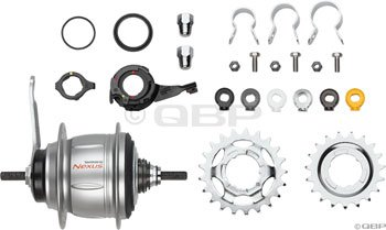 Shimano SG-8C31 Coaster Hub Kit Nexus (Silver, 36H 8 Speed Coaster Brake)