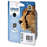 Epson T0711 - Print cartridge - 1 x black - blister - for Stylus DX9400, SX115, SX210, SX215, SX218, SX415, SX515, SX610; Stylus Office BX310, BX610