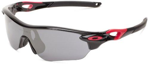 Oakley OO9183-07 Radarlock Edge Sunglasses,Polished Black/Black Iridium,55 mm (Radarlock Edge compare prices)