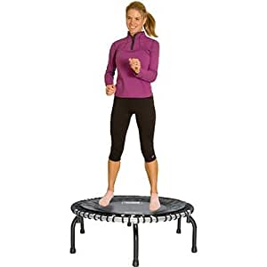 JumpSport® Fitness Trampoline 350i Includes Handle Bar and 4-in-1 Workout